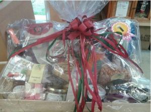 first prize christmas hamper